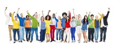 Verschiedenartigkeits-Ethnie-multiethnische Veränderungs-Zusammengehörigkeits-Einheit Te stockbilder