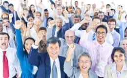 Verschiedenartigkeits-Geschäftsleute Unternehmens-Team Community Concept Lizenzfreies Stockbild
