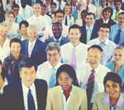Verschiedenartigkeits-Geschäftsleute Unternehmens-Team Community Concept Lizenzfreies Stockfoto