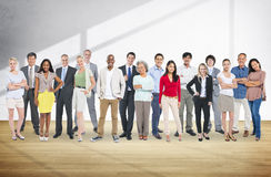 Verschiedenartigkeits-Leute-Aspirations-Community-Gruppen-Konzept Stockfotografie