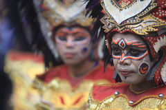 Verschiedenartigkeits-Tanz-Kunst-Festival Indonesien Stockfoto