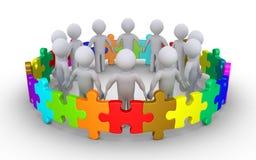 Verschiedenartigkeitskonzept mit Leuten Lizenzfreies Stockfoto