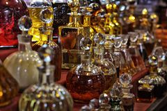 Verschiedene ätherische Öle Lizenzfreies Stockbild