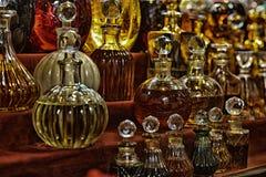 Verschiedene ätherische Öle Stockfotografie
