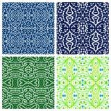 Verschiedene abstrakte Muster Lizenzfreie Stockfotos