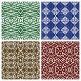 Verschiedene abstrakte Muster Stockbild