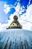 Verschiedene Ansichten von Stupa kitschiges Shyam Ponat u. x28; Swayambhunath& x29; oder M Lizenzfreie Stockbilder