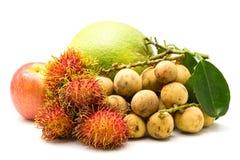 Verschiedene Arten der Frucht Stockfotos