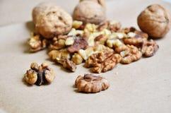 Verschiedene Arten der Nüsse Lizenzfreie Stockbilder