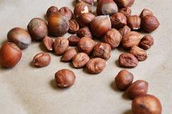 Verschiedene Arten der Nüsse Lizenzfreies Stockbild