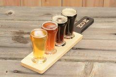 verschiedene Arten des Bieres Lizenzfreies Stockbild