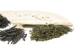 Verschiedene Arten des chinesischen Tees Stockfotografie