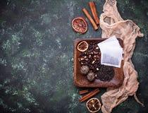 Verschiedene Arten des Tees Stockbild