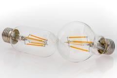 Verschiedene Arten einer Leistung von LED-Birnen und von unterschiedlicher Birne SH Lizenzfreie Stockbilder