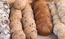 Verschiedene Arten von Keksen Stockbild