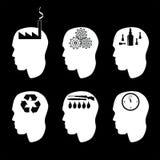 Verschiedene Arten von Leuten und von Denken Stockbild