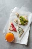 Verschiedene Arten von Sandwichen Lizenzfreies Stockfoto