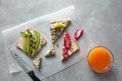 Verschiedene Arten von Sandwichen Lizenzfreie Stockfotografie