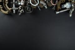 Verschiedene Autoteile lizenzfreies stockfoto