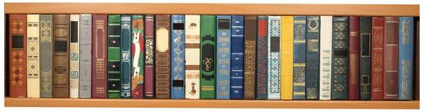 Verschiedene Bücher lizenzfreies stockbild