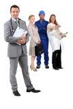 Verschiedene Berufe Lizenzfreies Stockfoto