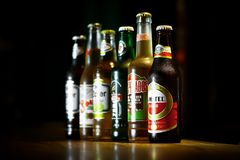 Verschiedene Biere Lizenzfreie Stockfotografie