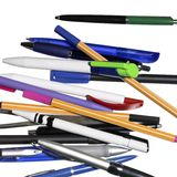 Verschiedene Bleistiftmischung Lizenzfreie Stockfotografie