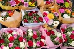 Verschiedene Blumenblumensträuße Lizenzfreies Stockfoto