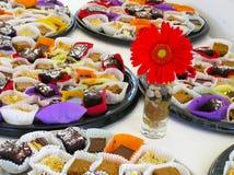 Verschiedene Bonbon-Kuchen Stockfoto