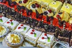 Verschiedene Bonbons Stockbild