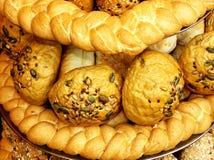 Verschiedene Brote Stockfotografie