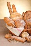 Verschiedene Brote Lizenzfreie Stockfotos