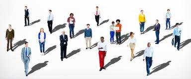 Verschiedene ethnische Geschäfts-Besetzungs-nettes Veränderungs-Konzept lizenzfreie stockfotos