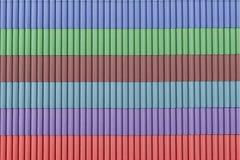 Verschiedene Farben-Dächer Lizenzfreie Stockfotografie