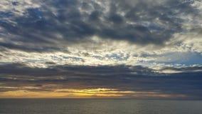 Verschiedene Farben des Himmels Stockbilder