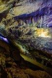 Verschiedene Farben in PROMETHEUS-Höhle lizenzfreie stockfotos