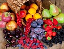 Verschiedene Früchte Stockfoto