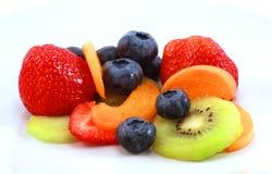 Verschiedene Früchte zusammen gesetzt Lizenzfreies Stockfoto