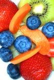 Verschiedene Früchte zusammen gesetzt Lizenzfreie Stockfotos