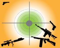 Verschiedene Gewehren Lizenzfreie Stockfotografie