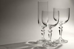Verschiedene Gläser Lizenzfreies Stockbild