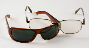 Verschiedene Gläser stockbild