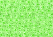 Verschiedene grüne Farbflecken auf Grün Stockbild