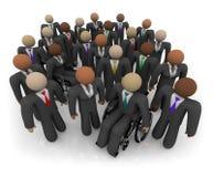 Verschiedene Gruppe Geschäftsleute Lizenzfreies Stockfoto