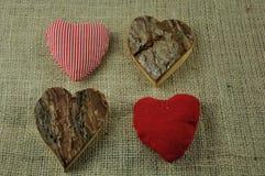 Verschiedene Herzen Stockfotos