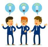 Verschiedene Ideen Stockfotos