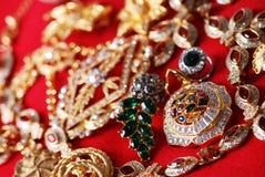 Verschiedene jeweleries Lizenzfreie Stockfotos