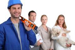 Verschiedene Jobs Stockbilder