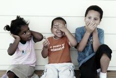 Verschiedene Kinder lizenzfreies stockfoto
