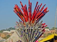 Kleinbetrieb in Kumbh 2013 Lizenzfreie Stockfotografie